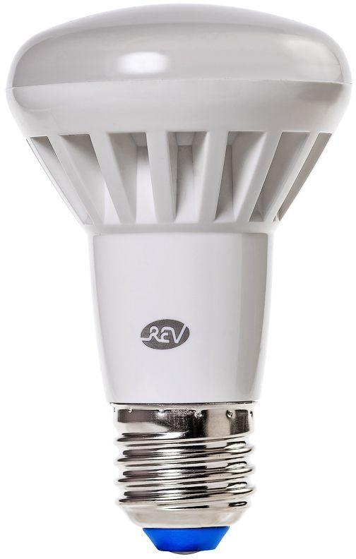 Лампа светодиодная REV, холодный свет, цоколь E27, 8W32337 2Энергосберегающая светодиодная лампа в форме R63 холодного свечения. Потребляемая мощность 8Вт. Интенсивность свечения аналогична обычной лампе накаливания мощностью 65Вт. Цоколь E27. Срок службы 30000 час. Световой поток 600Лм, цветовая температура 4000К. Гарантия 24 месяца.