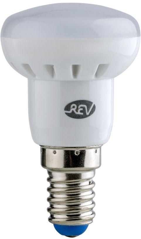 Лампа светодиодная REV, теплый свет, цоколь E14, 3W. 32361 732361 7Энергосберегающая светодиодная лампа в форме R39 теплого свечения. Потребляемая мощность 3Вт. Интенсивность свечения аналогична обычной лампе накаливания мощностью 25Вт. Цоколь E14. Срок службы 30000 час. Световой поток 250Лм, цветовая температура 2700К. Гарантия 24 месяца.