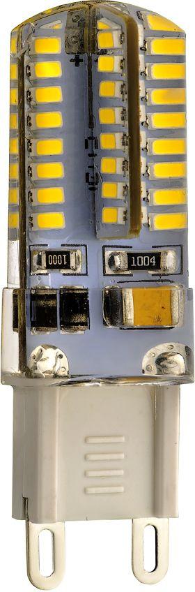 Лампа светодиодная REV, холодный свет, цоколь G9, 3W32368 6Энергосберегающая светодиодная лампа в форме кукуруза холодного свечения. Потребляемая мощность 3Вт. Интенсивность свечения аналогична обычной лампе накаливания мощностью 25Вт. Цоколь G9. Срок службы 30000 час. Световой поток 250Лм, цветовая температура 4000К. Гарантия 24 месяца.
