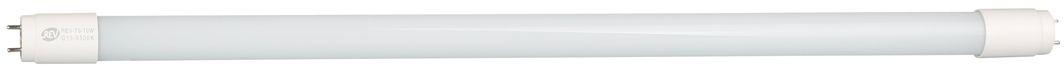 Лампа светодиодная REV, холодный свет, цоколь G13, 10W32391 4Энергосберегающая светодиодная лампа в форме трубки холодного свечения. Потребляемая мощность 10Вт. Интенсивность свечения аналогична обычной лампе накаливания мощностью 18Вт. Цоколь G13. Срок службы 30000 час. Световой поток 850Лм, цветовая температура 6500К. Гарантия 24 месяца.