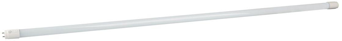 Лампа светодиодная REV, дневной свет, цоколь G13, 18W32392 1Энергосберегающая светодиодная лампа в форме трубки дневного свечения. Потребляемая мощность 18Вт. Интенсивность свечения аналогична обычной лампе накаливания мощностью 36Вт. Цоколь G13. Срок службы 30000 час. Световой поток 1680Лм, цветовая температура 4000К.