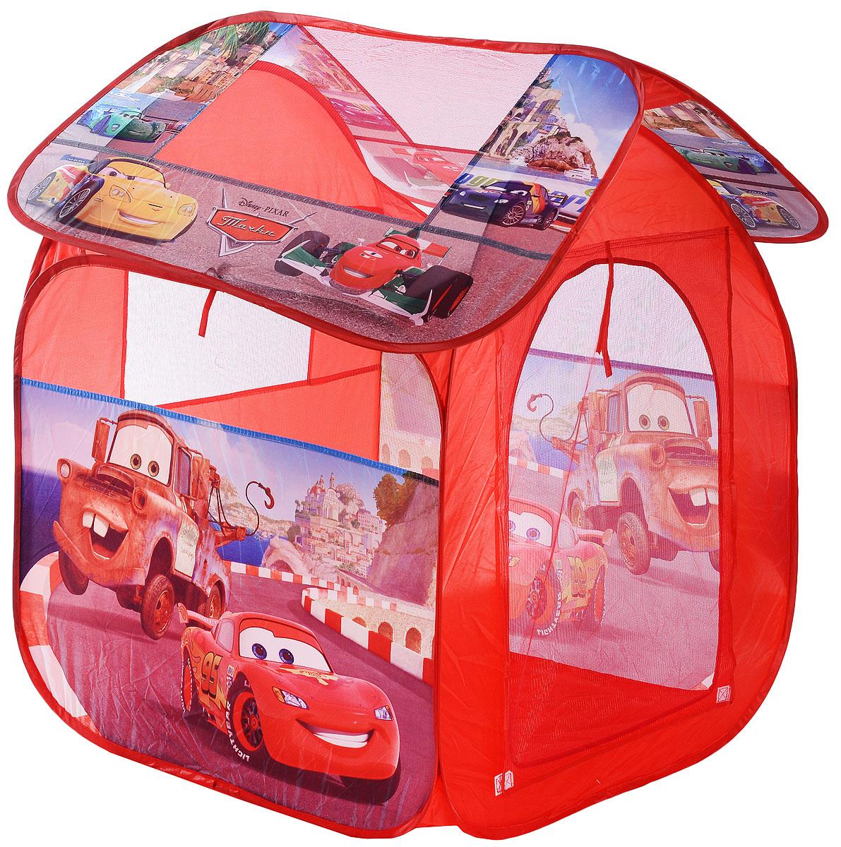 Играем вместе Детская игровая палатка Тачки 83 х 80 х 105 см GFA-SCARS-R