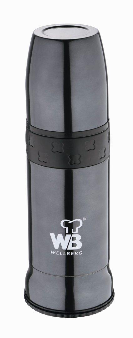 Термос многофункциональный Wellberg, 600 мл. 9480 WB9480 WBМногофункциональный термос Wellberg WB-9480 пригодится на отдыхе, на работе или в длинном утомительном путешествии. Термос изготовлен из высококачественной нержавеющей стали. Стильный корпус цвета металлик имеет двойные стенки, за счет которых горячие и холодные напитки не меняют свою температуру в течение долгого времени. Пластиковая крышка термоса послужит отличной удобной кружкой для чая или кофе. Объем термоса составляет 600 мл.