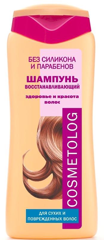 Чудо Лукошко Шампунь Восстанавливающий для сухих и поврежденных волос, Cosmetolog, 250мл360105Специально разработанная формула шампуня предназначена для сухих, поврежденных и пористых волос. Активные компоненты восстанавливают баланс влажности и поверхностную структуру волос. Витамины Е и F (масло рыжика), обладающие высокими антиоксидантными свойствами, защищают волосы и укрепляют их структуру. Провитамин B5 (пантенол) компенсирует дефицит влаги в стержне и луковице волоса. Специальный кондиционирующий агент превосходно адсорбируется по всей длине волоса от корней до кончиков, запечатывая питательные вещества, витамины и влагу внутри волосяного стержня. Хитозан предотвращает накопление электростатического заряда на волосах, делая их послушными. Регулярное использование шампуня делает волосы гладкими, шелковистыми и эластичными, предупреждает их ломкость. Волосы не спутываются, защищены от повреждения во время расчесывания, легко поддаются укладке.