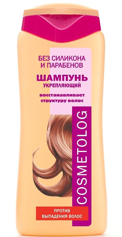 Чудо Лукошко Шампунь Укрепляющий против выпадения волос, Cosmetolog, 250мл360107Шампунь предназначен для ослабленных волос, характерные признаки которых - тусклость, ломкость, выпадение. Такие волосы имеют поврежденную кутикулу и недостаточное питание волосяной луковицы. Моющая основа мягко, но тщательно очищает волосы и кожу головы. Д-пантенол глубоко увлажняет волосы. Деликатный кондиционирующий агент восстанавливает поверхностную структуру волоса, создавая защитный слой по всей длине волоса, склеивая секущиеся кончики. Перец, вызывая гиперемию, улучшает питание волосяной луковицы, а масло цубаки (камелии японской) укрепляет волосяные фолликулы, препятствует выпадению волос, обладает антистрессовым действием на кожу головы, способствует удлинению фазы роста волоса. Волосы становятся сильными и прочными, приобретают здоровый естественный блеск и шелковистость.