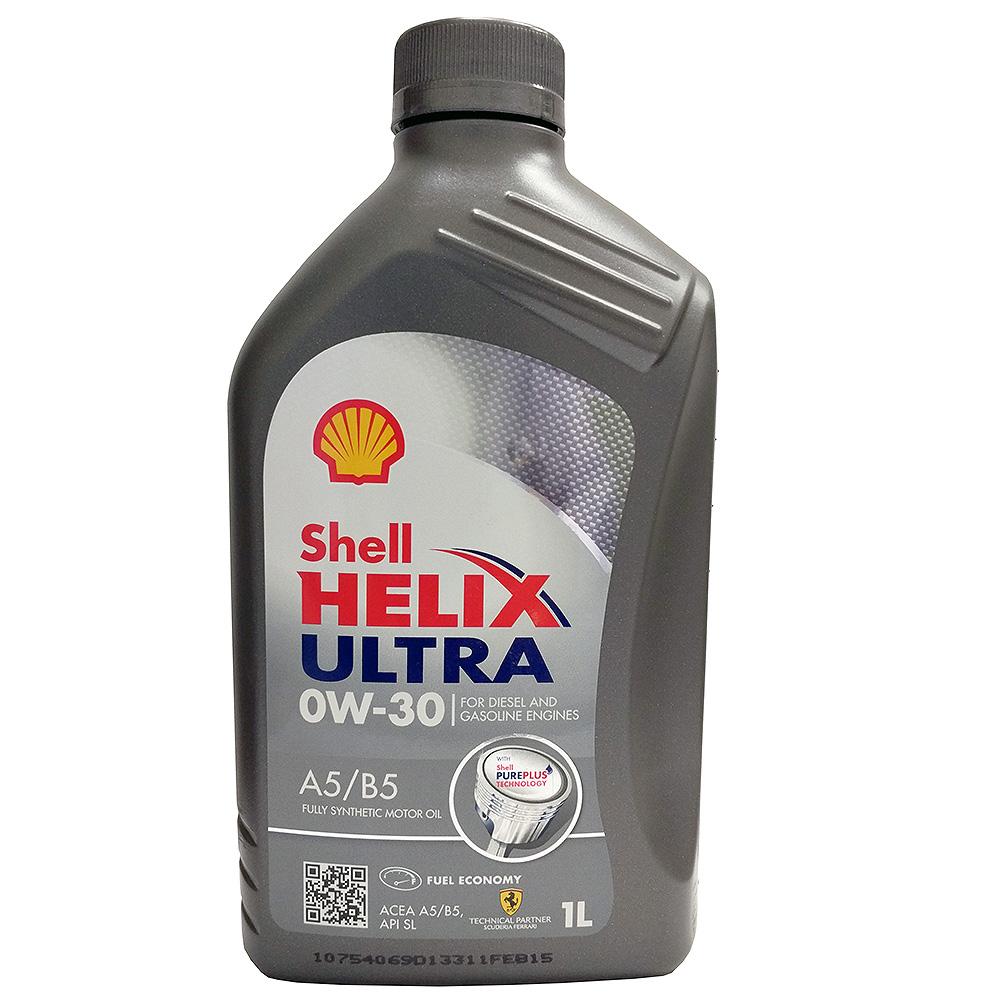 Моторное масло Shell Helix Ultra 0w30, 1 л550040164Полностью синтетическое моторное масло для самых современных двигателей, созданное на основе уникальной технологии Shell PurePlus. Низкая вязкость и низкий коэффициент трения обеспечивают дополнительную экономию топлива до 2,2%. Мощность двигателя и экономия топлива не уменьшаются даже после 100 000 км пробега (согласно результатам эксплуатационных испытаний на расстояние 100 000 км).Допуски и одобрения MB-Approval 226.5, MB-Approval 229.5, Renault RN0700, Renault RN0710, VW 502.00, VW 505.00
