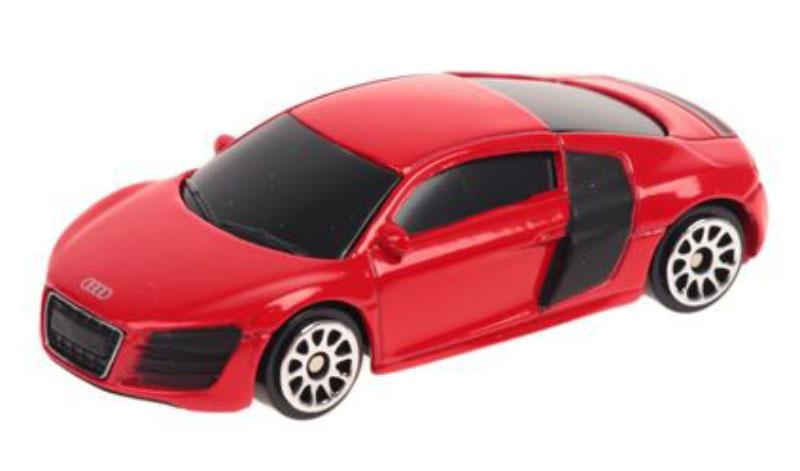 Pitstop Модель автомобиля Audi R8 V10 цвет красный