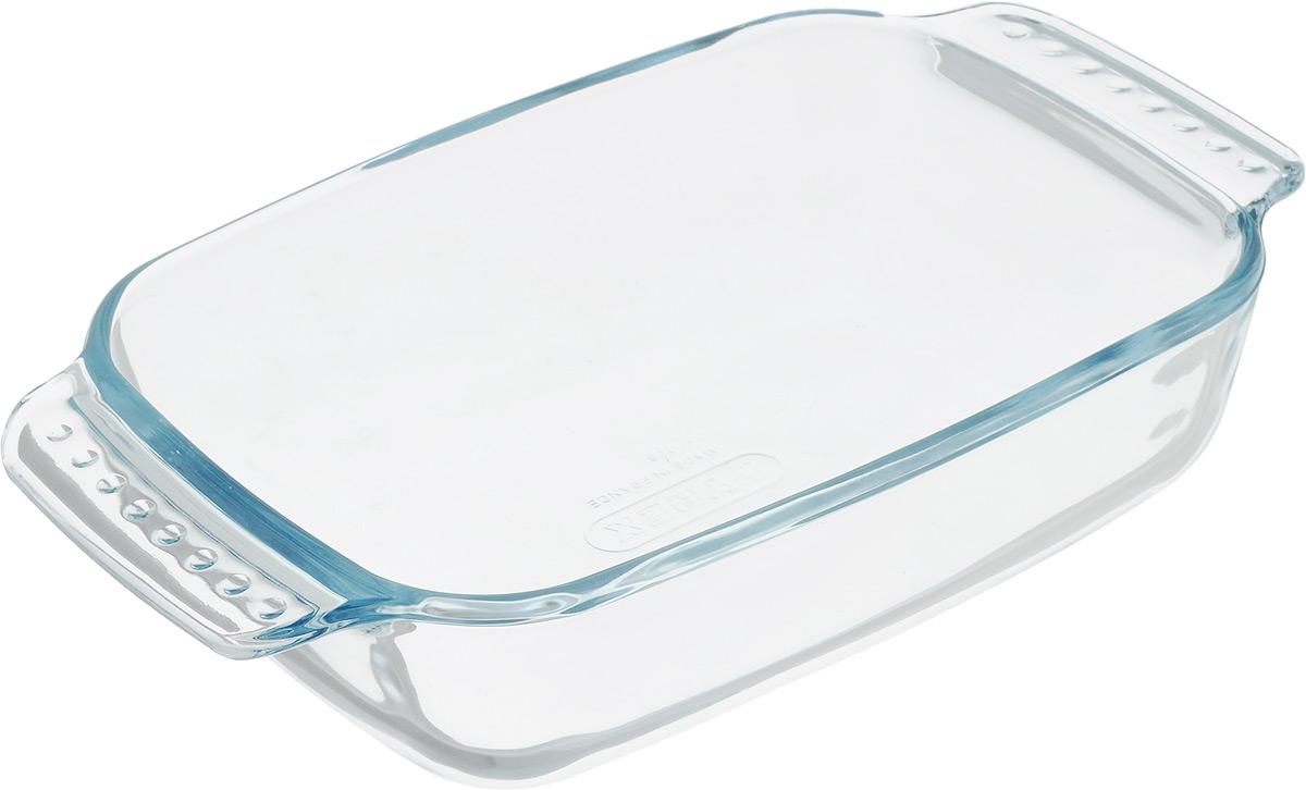 Форма для запекания Pyrex Classic, прямоугольная, с ручками, 22 x 13 см228B000/5640Стеклянная посуда Pyrex изготовлена из закаленного боросиликатного стекла, что отвечает строгим европейским нормам безопасности EN 1183. Такое стекло обладает повышенной ударопрочностью, жаропрочностью (от - 40С до +300С) и выдерживает резкий перепад температур в 220С.