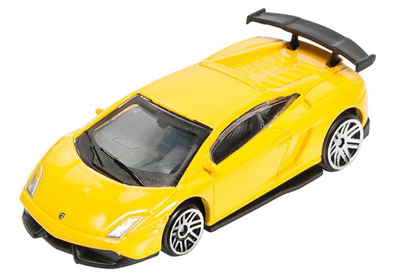 Pitstop Модель автомобиля Lamborghini LP570-4 Super Trofeo Stradale цвет желтый