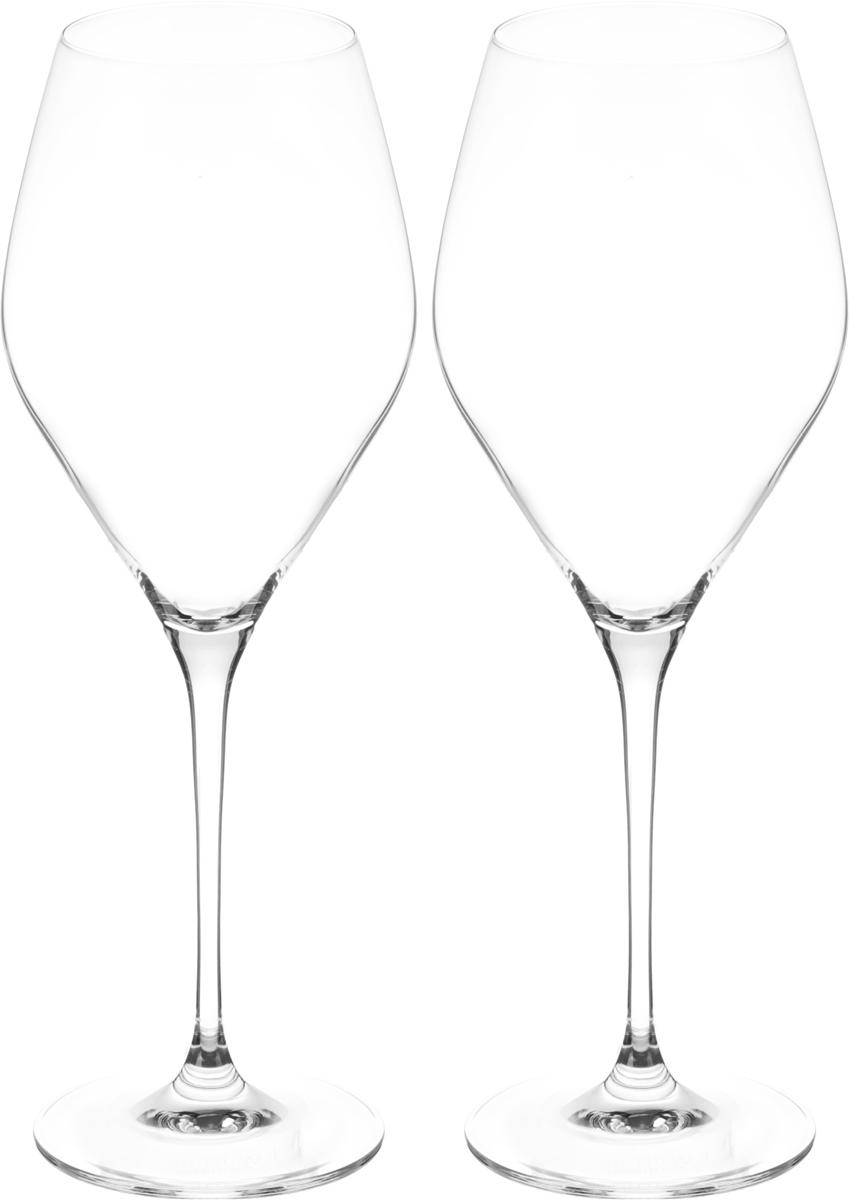 Набор бокалов для вина Wilmax, 560 мл, 2 штWL-888046 / 2CНабор Wilmax состоит из двух бокалов, выполненных из прочного стекла. Изделия оснащены высокими ножками и предназначены для подачи вина. Они сочетают в себе элегантный дизайн и функциональность. Набор бокалов Wilmax прекрасно оформит праздничный стол и создаст приятную атмосферу за романтическим ужином. Такой набор также станет хорошим подарком к любому случаю. Бокалы можно мыть в посудомоечной машине. Диаметр бокала по верхнему краю: 6 см. Диаметр основания: 8,3 см. Высота бокала: 26,5 см.