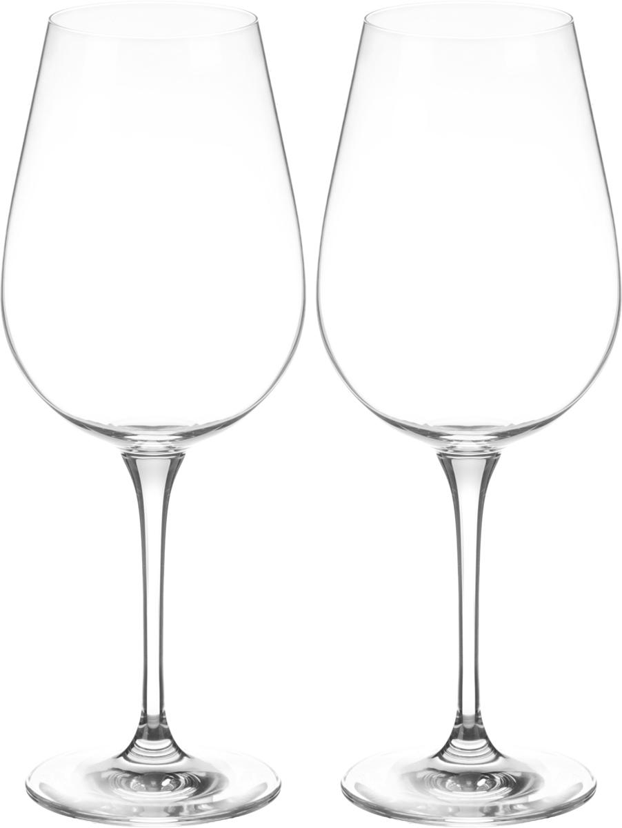 Набор бокалов для вина Wilmax, 700 мл, 2 шт. WL-888035WL-888035 / 2CНабор Wilmax состоит из двух бокалов, выполненных из стекла. Изделия оснащены высокими ножками и предназначены для подачи вина. Они сочетают в себе элегантный дизайн и функциональность. Набор бокалов Wilmax прекрасно оформит праздничный стол и создаст приятную атмосферу за романтическим ужином. Такой набор также станет хорошим подарком к любому случаю. Бокалы можно мыть в посудомоечной машине. Диаметр бокала по верхнему краю: 6,5 см. Диаметр основания: 8,3 см. Высота бокала: 25,5 см.