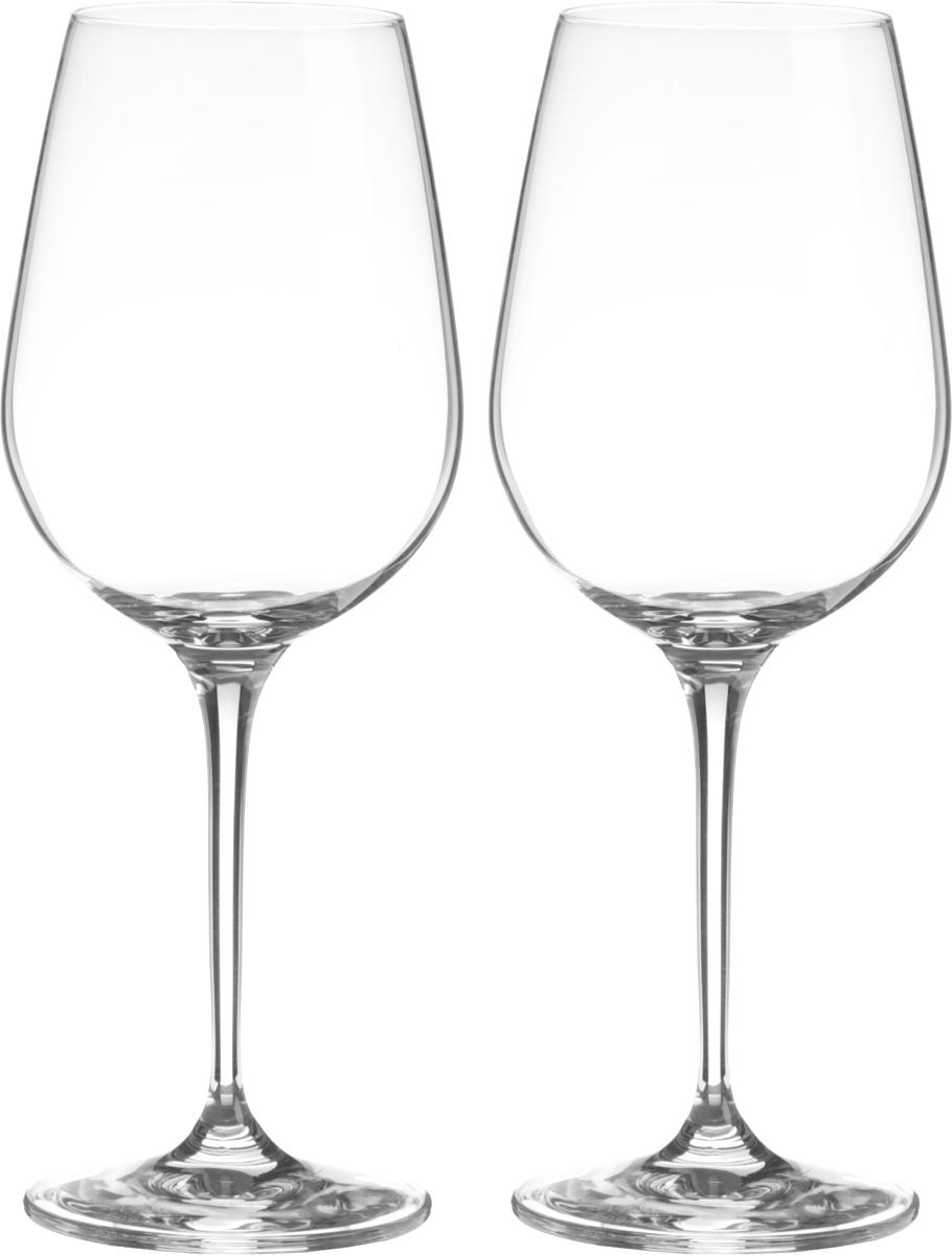 Набор бокалов для вина Wilmax, 470 мл, 2 штWL-888033 / 2CНабор Wilmax состоит из двух бокалов, выполненных из стекла. Изделия оснащены высокими ножками и предназначены для подачи вина. Они сочетают в себе элегантный дизайн и функциональность. Набор бокалов Wilmax прекрасно оформит праздничный стол и создаст приятную атмосферу за романтическим ужином. Такой набор также станет хорошим подарком к любому случаю. Бокалы можно мыть в посудомоечной машине. Диаметр бокала по верхнему краю: 6 см. Диаметр основания: 7,5 см. Высота бокала: 22,5 см.
