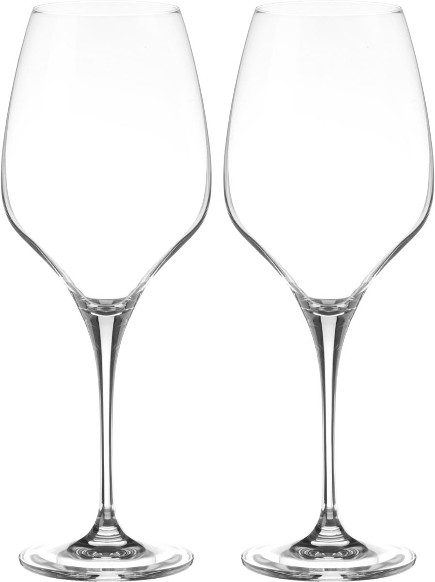Набор бокалов для вина Wilmax, 660 мл, 2 штWL-888043 / 2CНабор Wilmax состоит из двух бокалов, выполненных из прочного стекла. Изделия оснащены высокими ножками и предназначены для подачи вина. Они сочетают в себе элегантный дизайн и функциональность. Набор бокалов Wilmax прекрасно оформит праздничный стол и создаст приятную атмосферу за романтическим ужином. Такой набор также станет хорошим подарком к любому случаю. Бокалы можно мыть в посудомоечной машине. Диаметр бокала по верхнему краю: 6,5 см. Диаметр основания: 8,3 см. Высота бокала: 26 см.