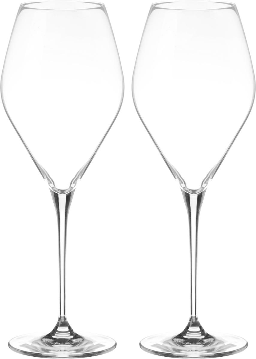 Набор бокалов для вина Wilmax, 700 мл, 2 штWL-888047 / 2CНабор Wilmax состоит из двух бокалов, выполненных из стекла. Изделия оснащены высокими ножками и предназначены для подачи вина. Они сочетают в себе элегантный дизайн и функциональность. Набор бокалов Wilmax прекрасно оформит праздничный стол и создаст приятную атмосферу за романтическим ужином. Такой набор также станет хорошим подарком к любому случаю. Бокалы можно мыть в посудомоечной машине. Диаметр бокала по верхнему краю: 7 см. Диаметр основания: 8,5 см. Высота бокала: 27,5 см.