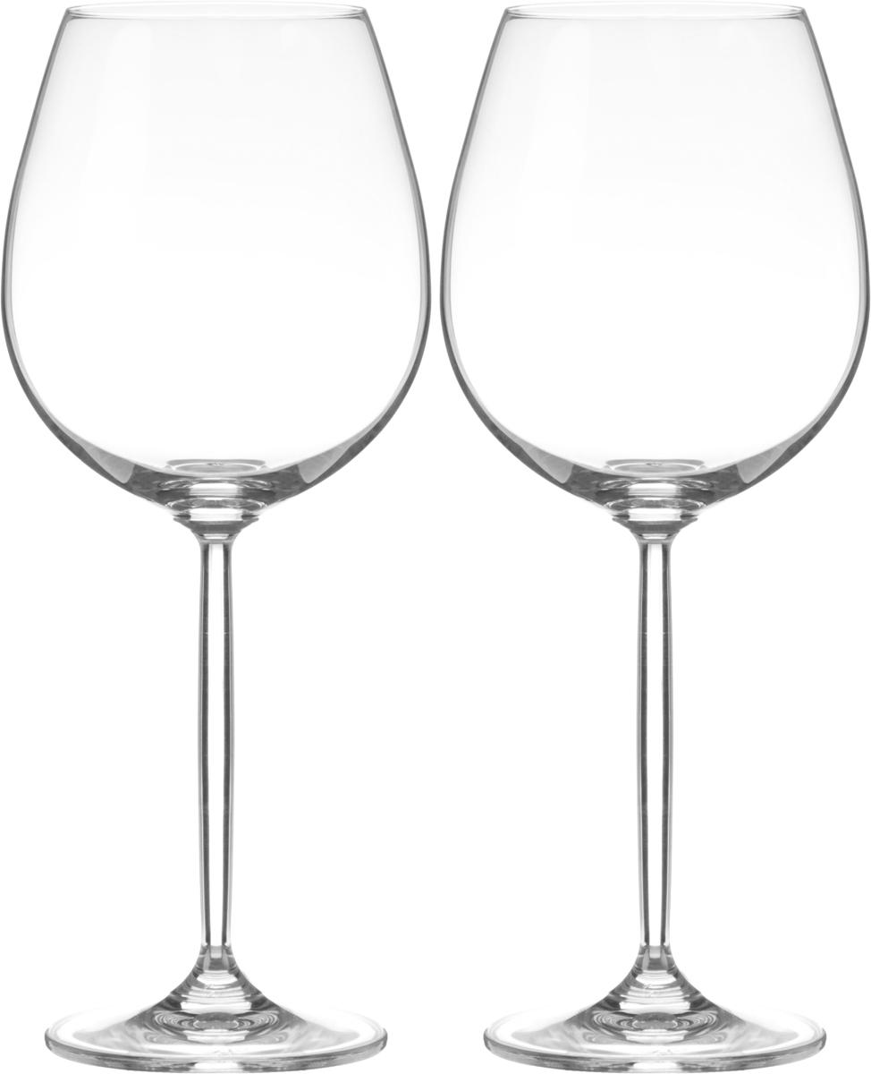 Набор бокалов для вина Wilmax, 630 мл, 2 штWL-888002 / 2CНабор Wilmax состоит из двух бокалов, выполненных из стекла. Изделия оснащены высокими ножками и предназначены для подачи вина. Они сочетают в себе элегантный дизайн и функциональность. Набор бокалов Wilmax прекрасно оформит праздничный стол и создаст приятную атмосферу за романтическим ужином. Такой набор также станет хорошим подарком к любому случаю. Бокалы можно мыть в посудомоечной машине. Диаметр бокала по верхнему краю: 6,5 см. Диаметр основания: 8 см. Высота бокала: 24,5 см.