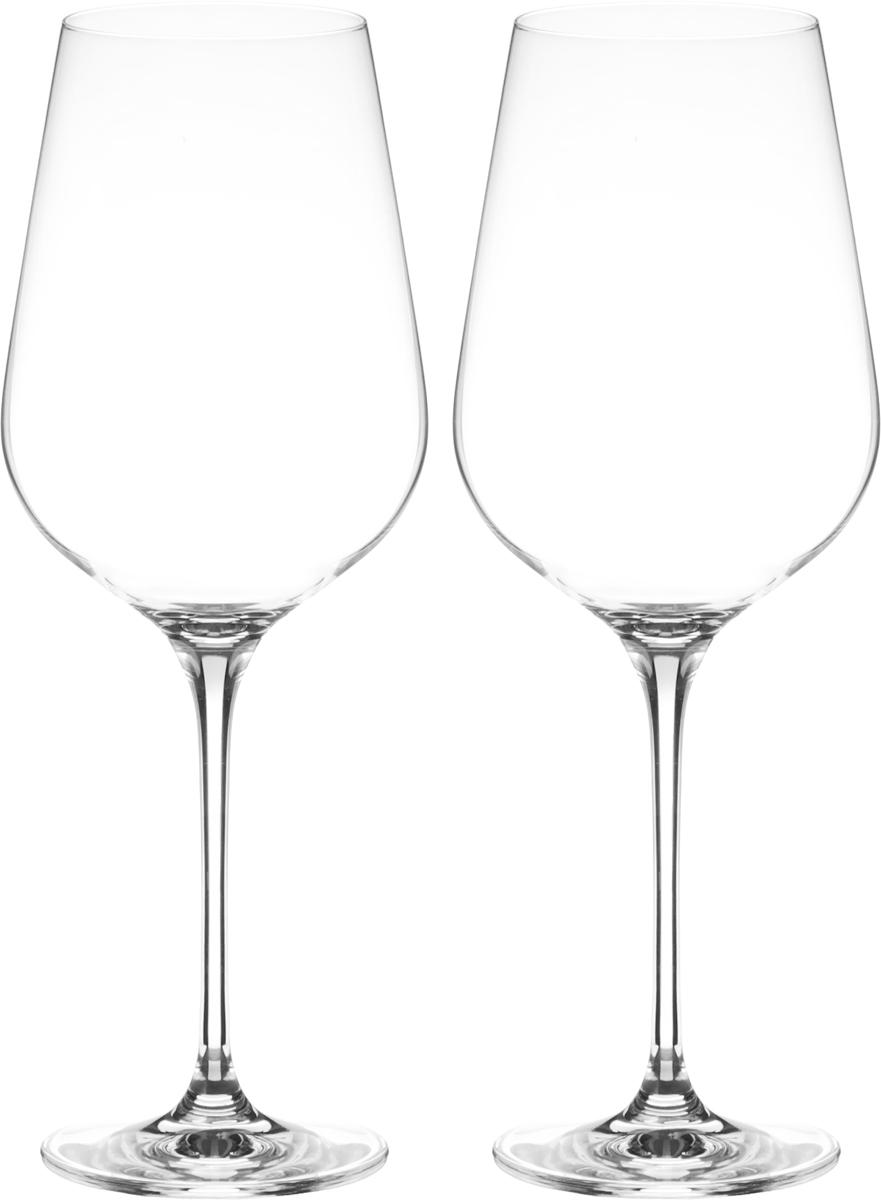 Набор бокалов для вина Wilmax, 780 мл, 2 штWL-888041 / 2CНабор Wilmax состоит из двух бокалов, выполненных из прочного стекла. Изделия оснащены высокими ножками и предназначены для подачи вина. Они сочетают в себе элегантный дизайн и функциональность. Набор бокалов Wilmax прекрасно оформит праздничный стол и создаст приятную атмосферу за романтическим ужином. Такой набор также станет хорошим подарком к любому случаю. Диаметр бокала по верхнему краю: 7 см. Диаметр основания: 8,3 см. Высота бокала: 27,5 см.