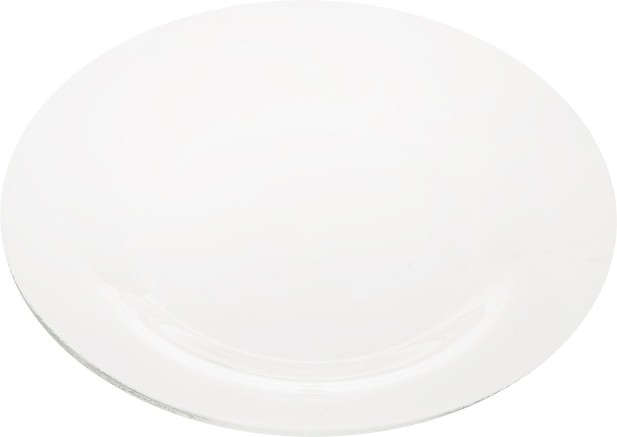 Тарелка десертная OSZ Симпатия, диаметр 20 см16C1888Тарелка десертная СИМПАТИЯ 20см.Изготовлено из стекла.