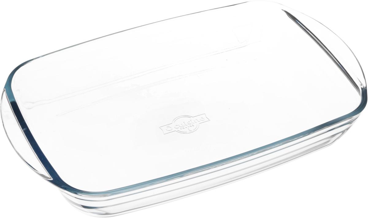 Форма для запекания Pyrex, стеклянная, 32 х 20 х 5 см247BC00Форма для запекания Pyrex изготовлена из термостойкого, экологически чистого стекла. Изделие выдерживает температуру от -40°С до +300°С. Не содержит кадмия и свинца. Толстые стенки изделия позволяют пище готовиться быстро и равномерно. Форма предназначена для приготовления пищи в духовке, жарочном шкафу и микроволновой печи, пригодна для хранения и замораживания различных продуктов, а также для сервировки пищи. Внутренний размер формы (без учета ручек): 28,5 х 19,2 х 4,5 см. Объем формы: 2 л.