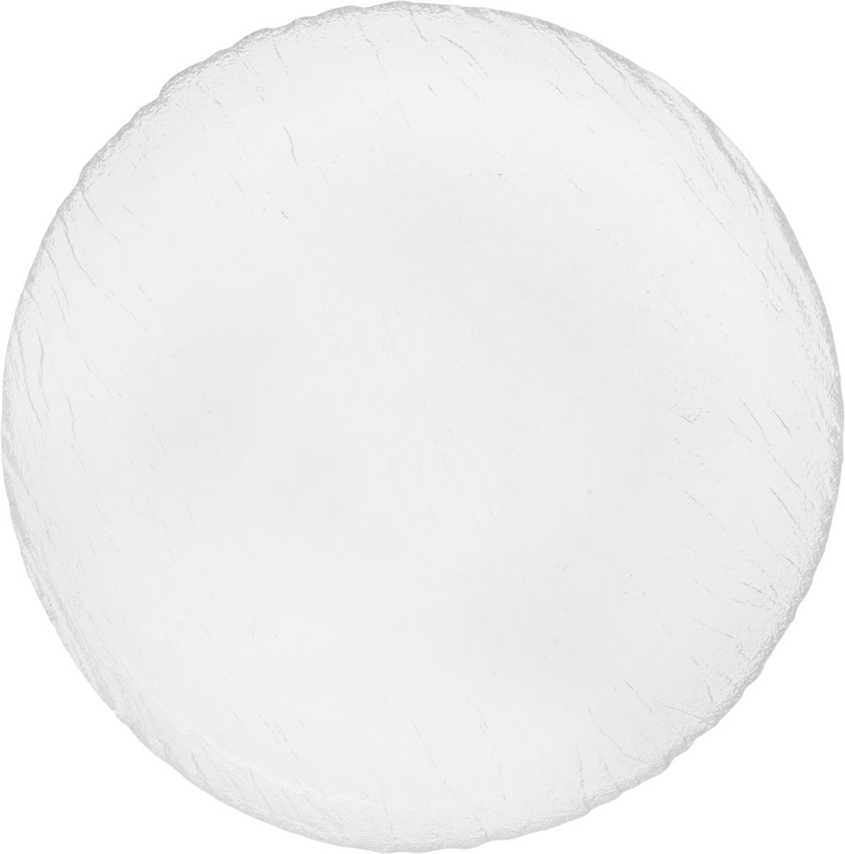 Тарелка обеденная OSZ Вулкан, цвет: прозрачный, диаметр 25 см16C1903Обеденная тарелка OSZ Вулкан изготовлена из высококачественного стекла. Изделие имеет рельефную наружную поверхность. Тарелка прекрасно впишется в интерьер вашей кухни и станет достойным дополнением к кухонному инвентарю. Тарелка OSZ Вулкан подчеркнет прекрасный вкус хозяйки и станет отличным подарком. Можно мыть в посудомоечной машине и использовать в микроволновой печи.