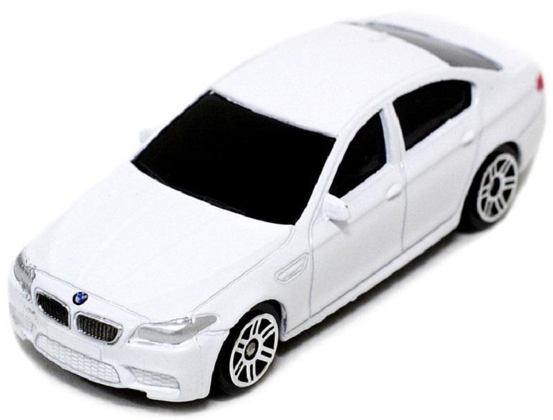 Pitstop Модель автомобиля BMW M5 цвет белый масштаб 1:64