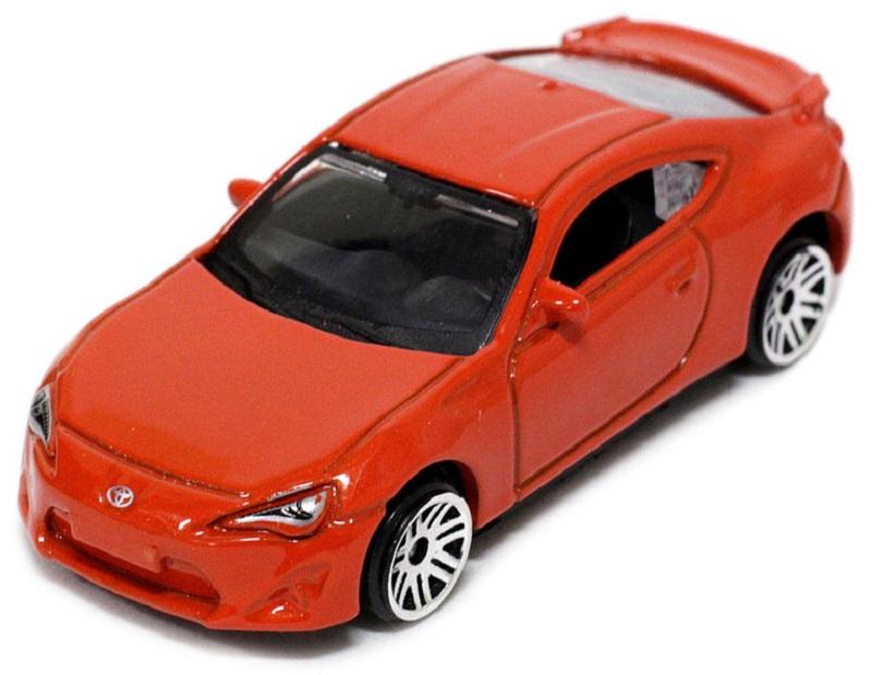 Pitstop Модель автомобиля Toyota GT-86 цвет оранжевый масштаб 1/64