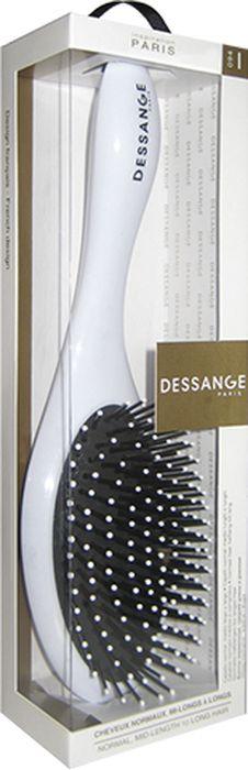 Щетка массажная Dessange, овальная956019Массажная щетка Dessange незаменима для длинных и средних волос. Обеспечивает деликатный массаж кожи головы, улучшает микроциркуляцию. Идеально гладкая поверхность расчески и зубчиков полностью исключает травмирование волос и кожи головы. Пластик из которого изготовлена щетка, безопасен в использовании, высокоустойчив к истиранию и механическим воздействиям. Характеристики: Материал: пластик. Длина щетки: 25 см. Размер рабочей поверхности щетки: 6 см х 10,8 см. Жесткость щетины: Medium. Размер упаковки: 28 см х 7,5 см х 5,5 см. Производитель: Франция. Изготовитель: Корея. Артикул: 656119.