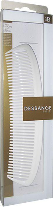 Расческа Dessange956037Расческа Dessange незаменима для расчесывания и распутывания длинных волос, а так же для курчавых и химически завитых. Мягко расчесывают волосы, не травмируют кожу головы. Пластик, из которого изготовлена расческа, безопасен в использовании, обладает высокой устойчивостью к истиранию и механическим воздействиям. Идеально гладкая поверхность расчески полностью исключает травмирование волос и кожи головы. Характеристики: Материал: пластик с элементами из шелка. Длина расчески: 20 см. Наибольшая длина зубьев: 3,5 см. Размер упаковки: 28 см х 7 см х 1,5 см. Производитель: Франция. Изготовитель: Китай. Артикул: 656135.