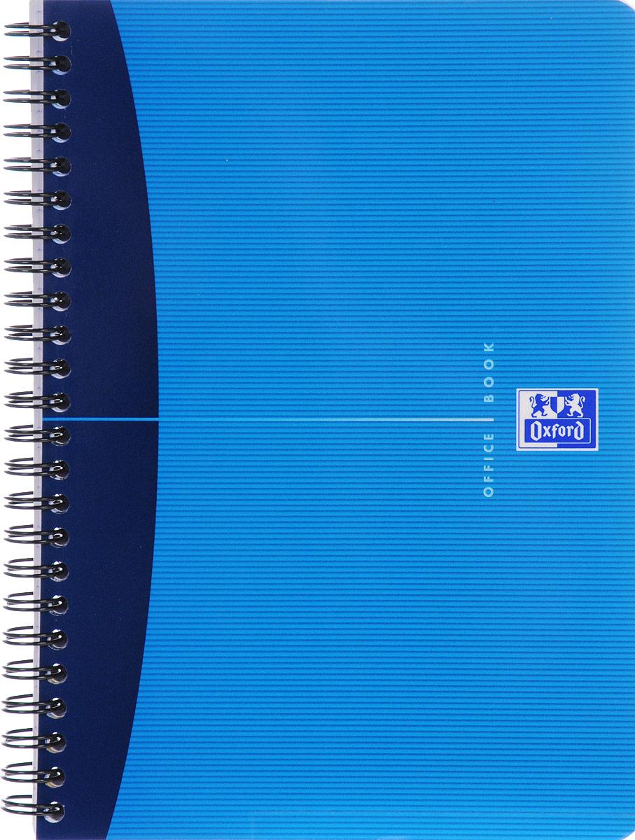 Oxford Тетрадь Essentials 90 листов в клетку цвет синий голубой822566_синий, голубойПрактичная тетрадь Oxford Essentials отлично подойдет для школьников, студентов и офисных служащих. Обложка тетради выполнена из плотного картона с закругленными краями. Тетрадь формата А5 состоит из 90 белых листов на двойном гребне с линовкой в клетку без полей. Практичное и надежное крепление на гребне позволяет отрывать листы. Тетрадь дополнена съемной закладкой-линейкой из матового полупрозрачного пластика. Высококачественная бумага Optik Paper имеет шелковистую поверхность и высокую белизну, при письме чернила быстро впитываются и не размазываются, надпись не просвечивается с обратной стороны листа.
