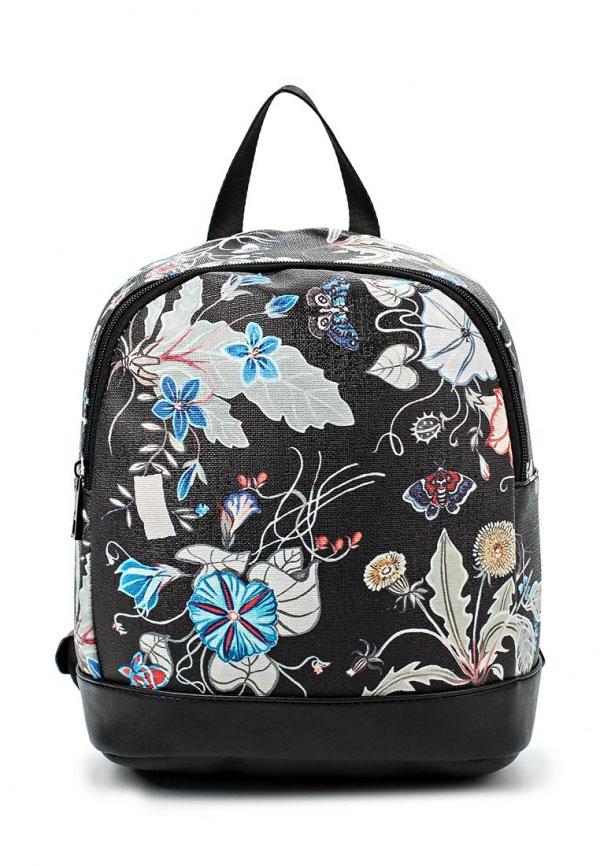 Рюкзак для девочки Vitacci, цвет: черный. 21095-321095-3Рюкзак для девочки от Vitacci выполнен из искусственной кожи. Модель с одним отделением, застегивается на молнию. Внутри имеется прорезной карман на молнии. Плечевые лямки регулируемые по длине.
