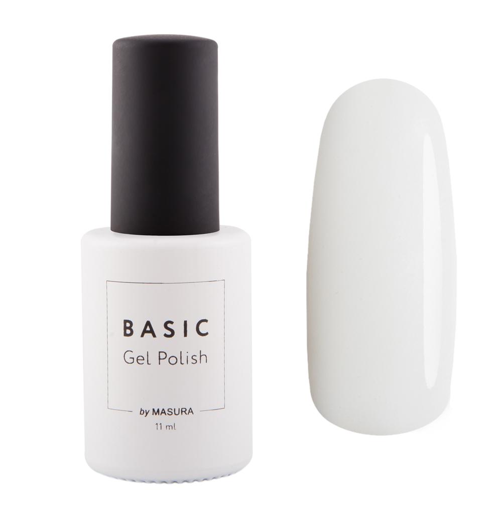 Masura Гель-лак BASIC Белый Бархат, 11 мл294-308белый, плотный