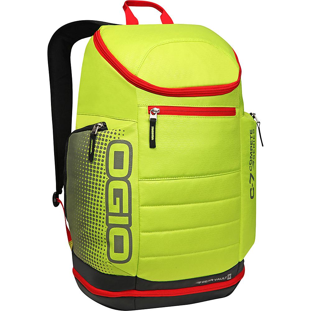 Рюкзак городской OGIO Active. C7 Sport Pack (A/S), цвет: желтый, черный, красный. 031652226838031652226838Классическая компоновка с одним вместительным отделением и несколькими небольшими карманами вместе с удобной посадкой рюкзака и есть идеал. Это потенциально, Ваш любимый рюкзак, остается только приобрести его.