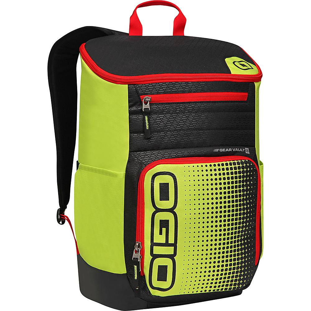 Рюкзак городской OGIO Active. C4 Sport Pack (A/S), цвет: желтый, черный, красный. 031652226890031652226890Удобнейший рюкзак для занятий спортом с огромным основным отделением и несколькими внешними карманами. Туда поместится экипировка практически для любого вида спорта. Вам он точно понравится.