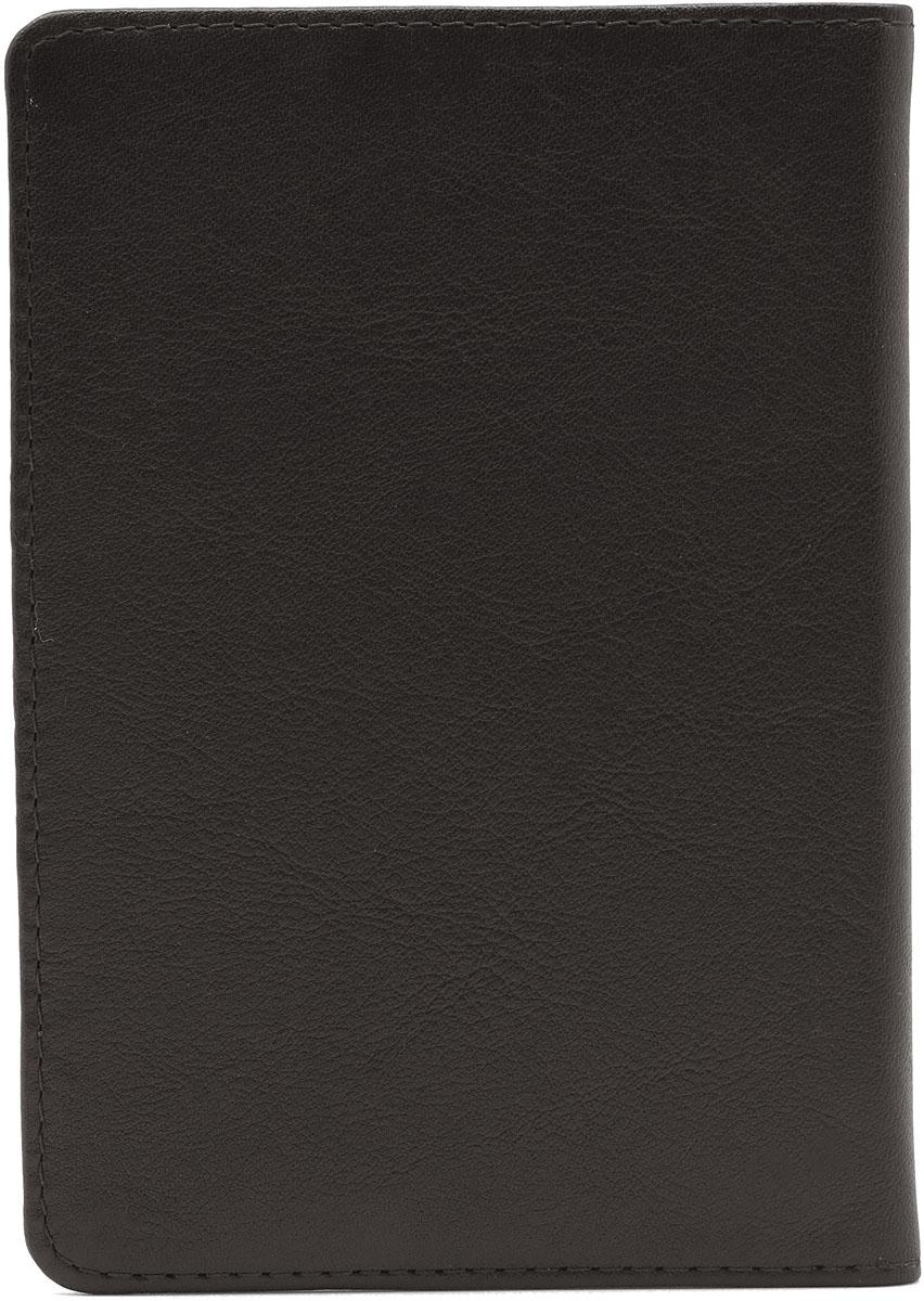 Обложка для паспорта Soltan, цвет: коричневый. 011 01 03011 01 03Обложка для паспорта Soltan из натуральной кожи коричневого цвета, внутри карман для кредитки/водит.удостоверения.