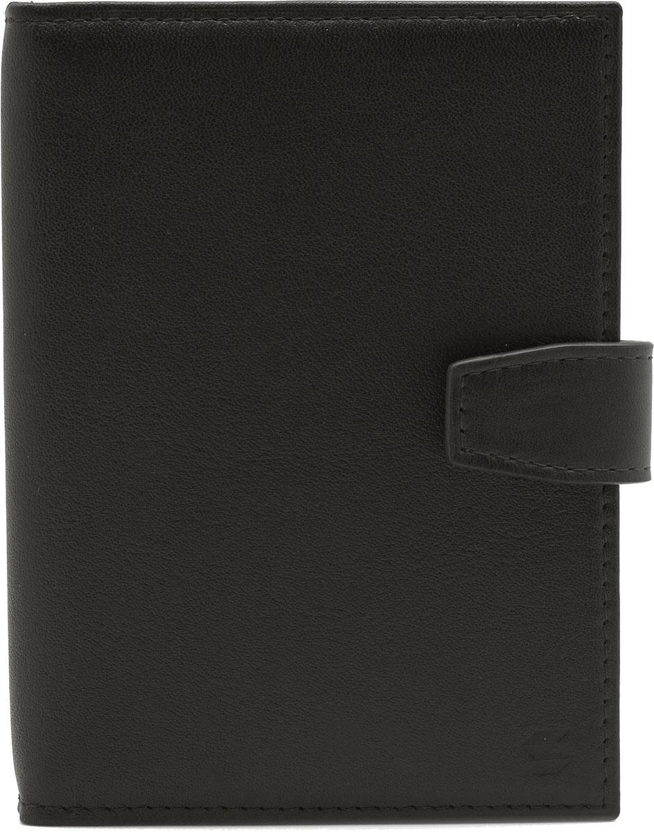 Обложка для автодокументов Soltan, цвет: коричневый. 075 01 03075 01 03Обложка для автодокументов Soltan из натуральной кожи коричневого цвета, закрывается на кнопку, внутри четыре кармашка для карточек, файлы для документов, отделение для паспорта.