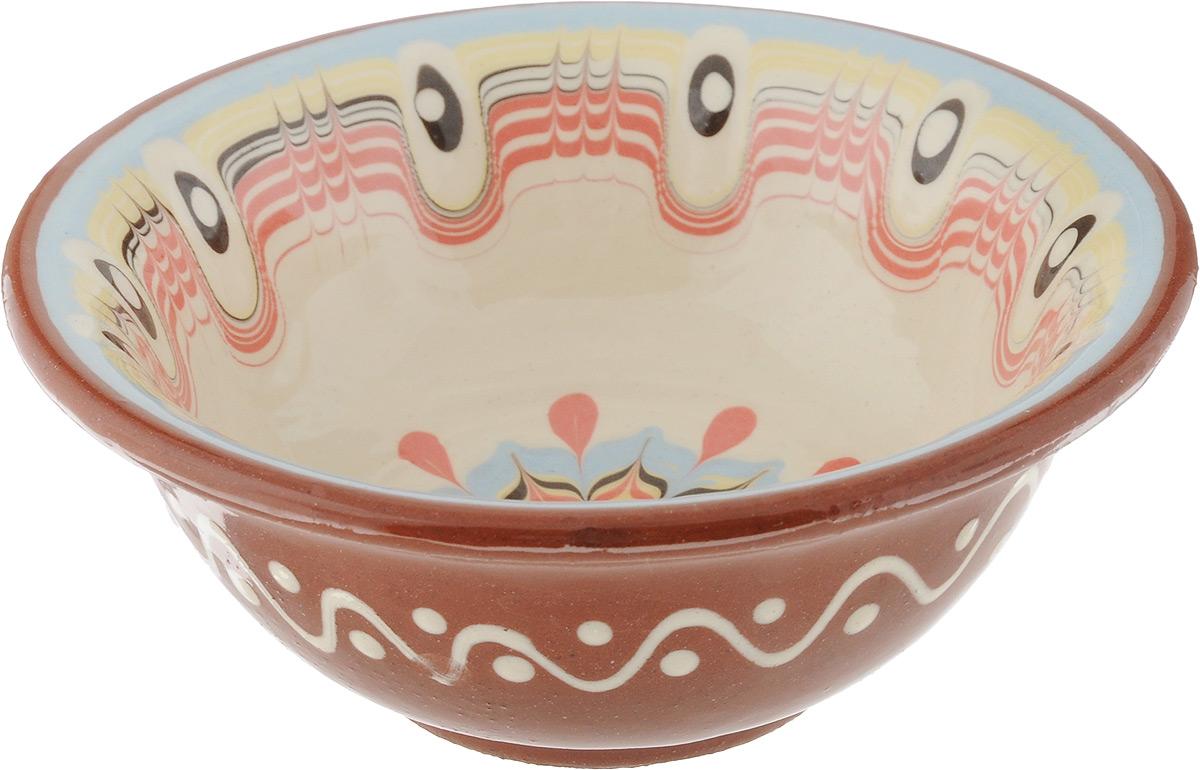 Салатник Troian ceramics, 12 см. 013/B0012013/B0012Элегантный салатник Troian ceramics, изготовленный из высококачественной керамики, прекрасно подойдет для подачи различных блюд: закусок, салатов или фруктов. Такой салатник украсит ваш праздничный или обеденный стол, а оригинальное исполнение понравится любой хозяйке. Диаметр салатника (по верхнему краю): 12 см. Высота салатника: 5 см.