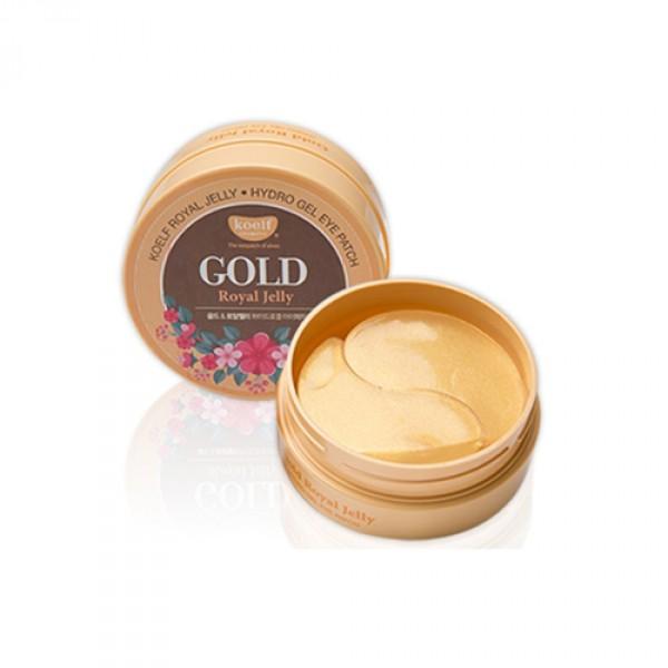 Koelf Маска для лица гидрогелевая с золотом и маточным молочком Gold & Royal Jelly Mask, 30 гр802551Гидрогелевая маска с натуральным экстрактом пчелиного маточного молочка и коллоидным золотом. Гидрогель - это желеобразная вода, которая плотнее прилегает к коже и поступление активных веществ происходит быстрее нежели чем через тканевые маски. Многофункциональная гидрогелевая маска для лица пропитана эссенцией, которая реагирует на температуру кожи, расстворяется и проникает в глубокие слои дермы, устраняя мимические морщины. В состав масок входит пчелиное маточное молочко, которое оказывает омолаживающее (повышает эластичность, ускоряет обменные процессы клеток, повышает клеточный иммунитет), смягчающее и укрепляюще действия. Компонент коллоидное золото 24К обеспечивает здоровый, сияющий и ровный тон коже. Гиалуроновая кислота насыщает кожу коллагеном, чтобы поддерживать ее водный баланс. Нежный аромат лаванды успокаивает душу и тело, а также устраняет следы усталости с чувствительной кожи.