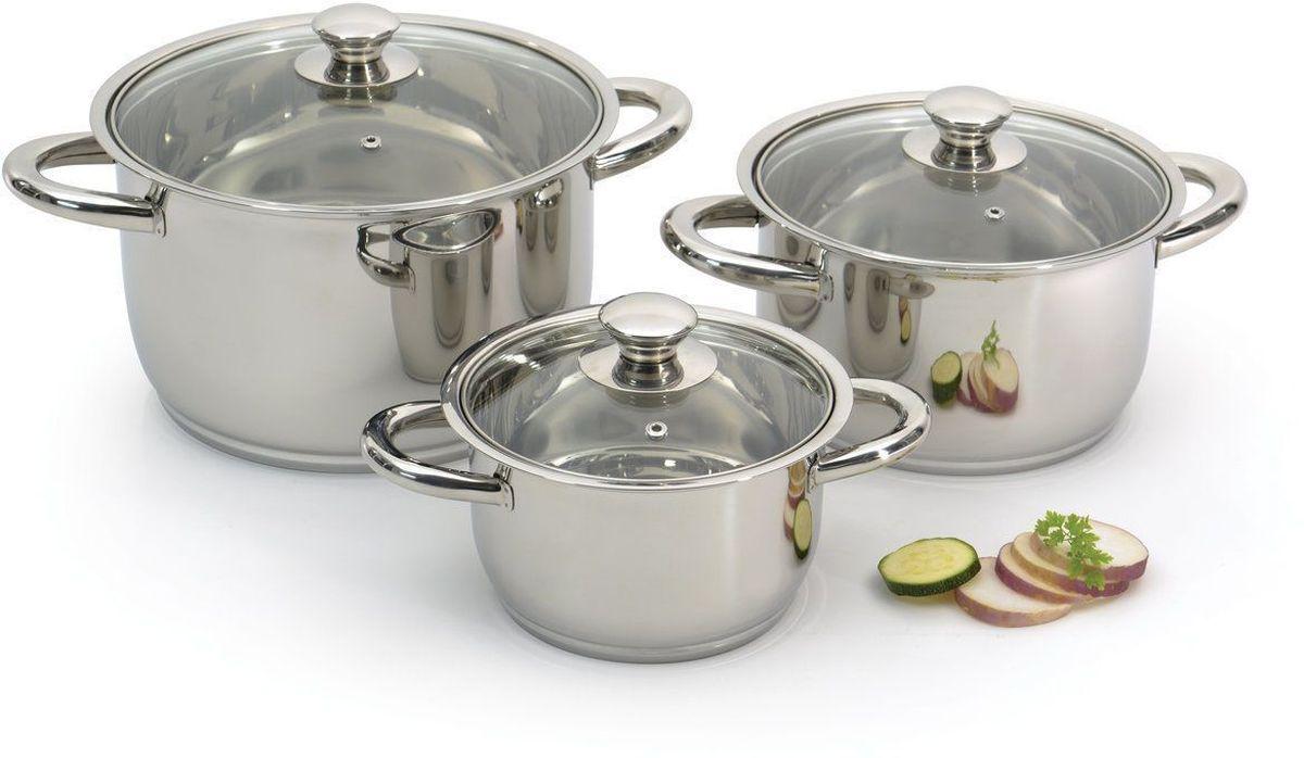 Набор посуды BergHOFF Studio, со стальными ручками, 6 шт. 11060101106010