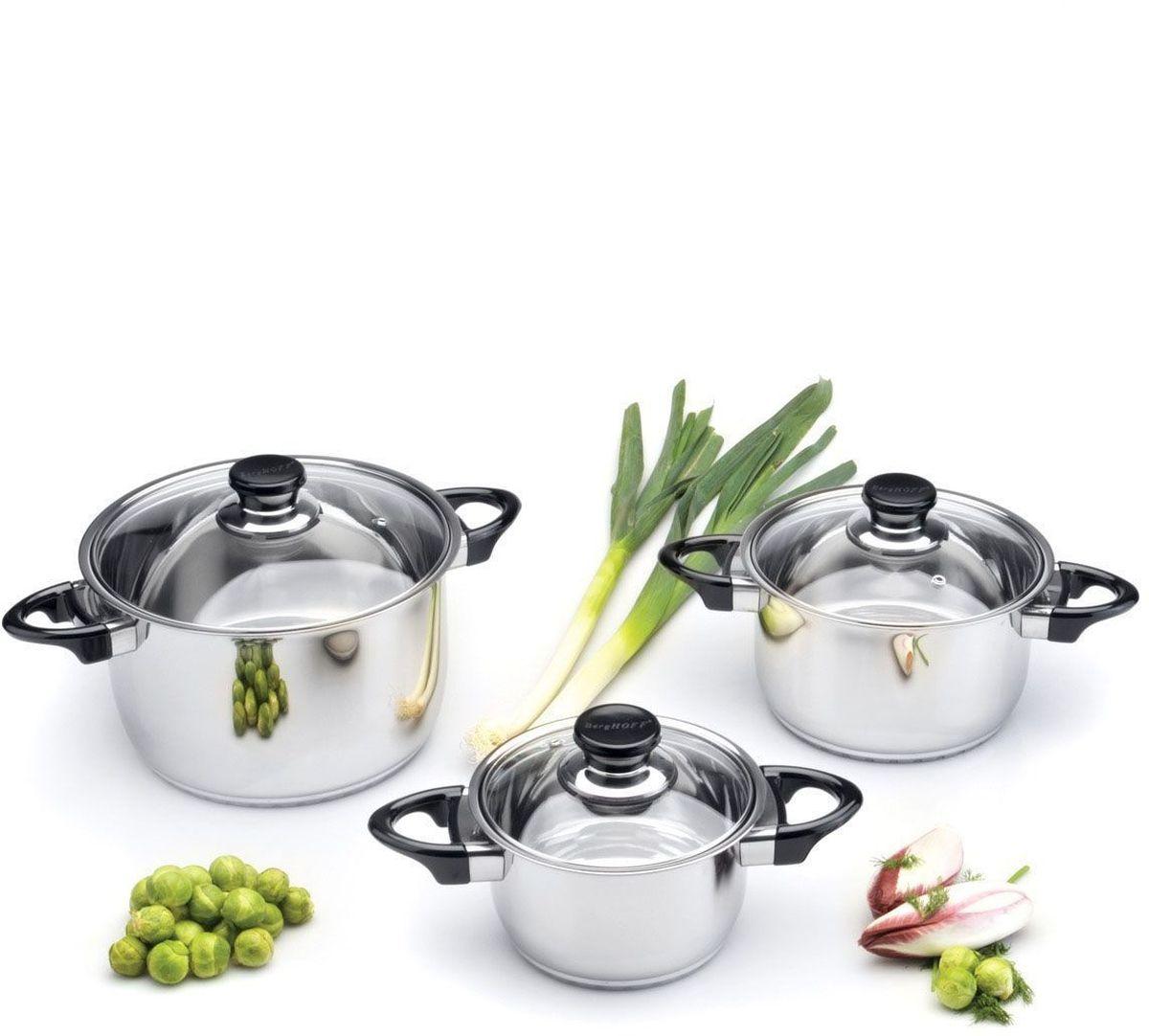 Набор посуды BergHOFF Studio, 6 шт. 11124591112459