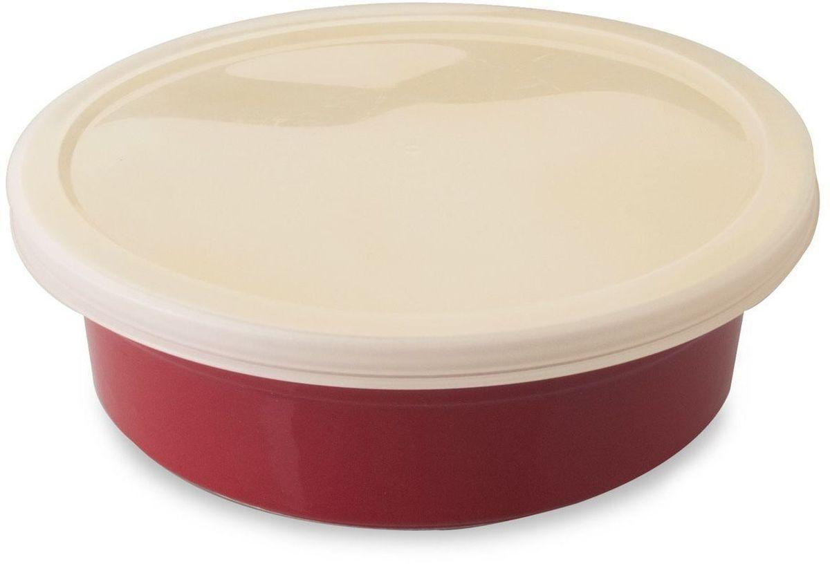 Форма для запекания BergHOFF Geminis, круглая, с крышкой, 21 х 6,5 см. 16951121695112