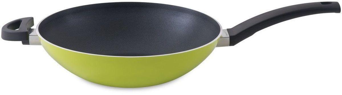 Сковорода BergHOFF Eclipse, 3,2 л, 28 см, цвет: лаймовый. 37000883700088