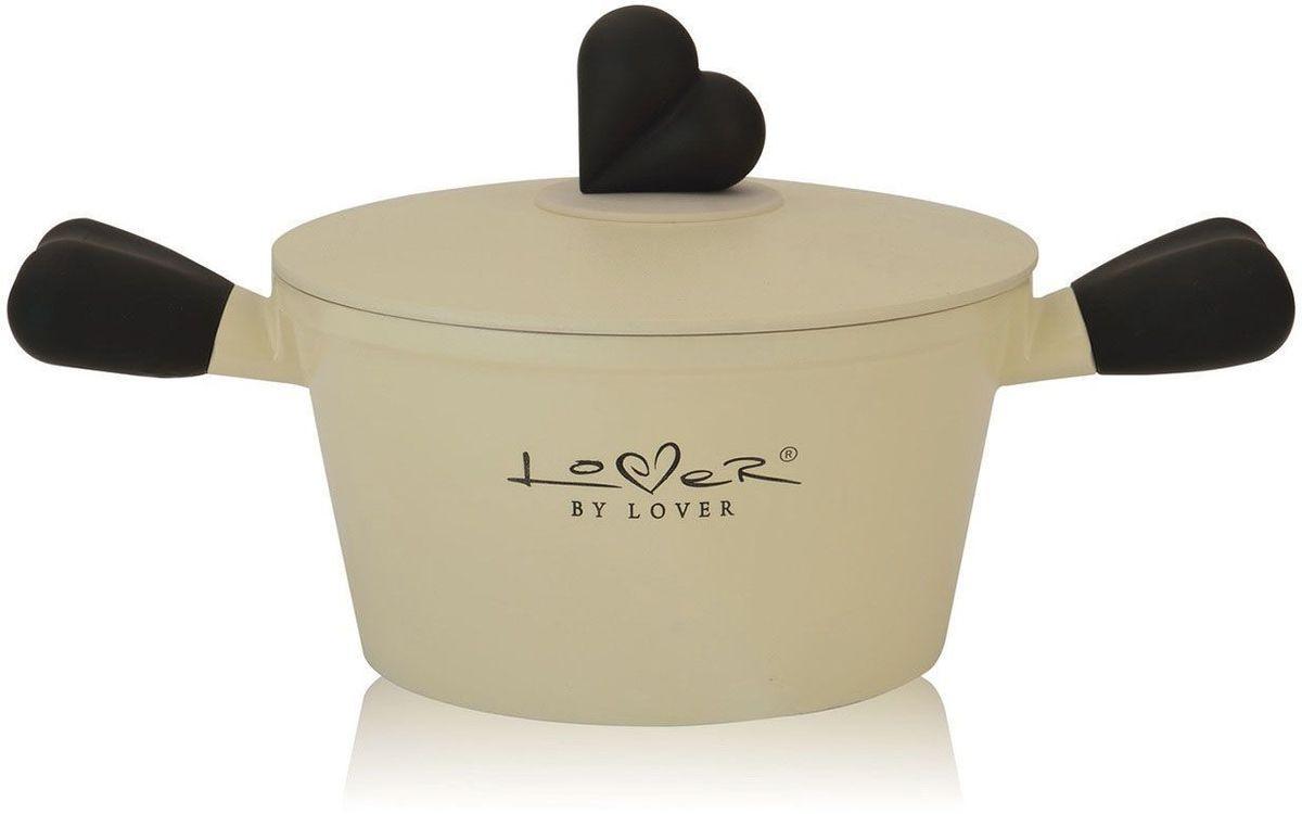 Кастрюля BergHOFF Lover by Lover, с крышкой, 1,4 л, 16 см. 38000053800005