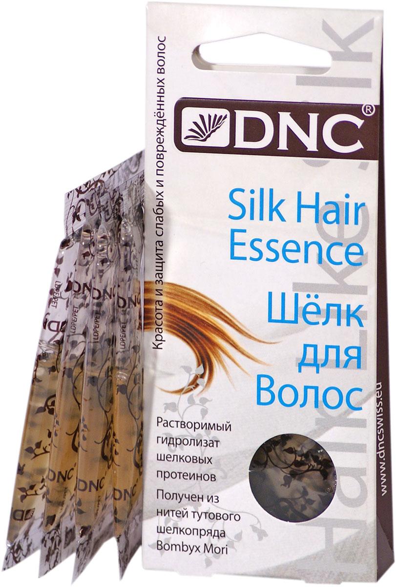 DNC Шелк для волос, 4x10 мл4751006756694Растворимый гидролизат шелковых протеинов получен из нитей тутового шелкопряда Bombyx Mori.Гидролизат шелковых протеинов взаимодействует со структурой волос, он очень близок к естественным тканям по своему строению, отлично заполняет и восстанавливает поврежденные фрагменты. Улучшает защитные функции. Придает мягкость, эластичность и здоровый блеск. Прекрасное средство для поддержания цвета окрашенных волос. Способствует глубокому и длительному увлажнению кожи головы.