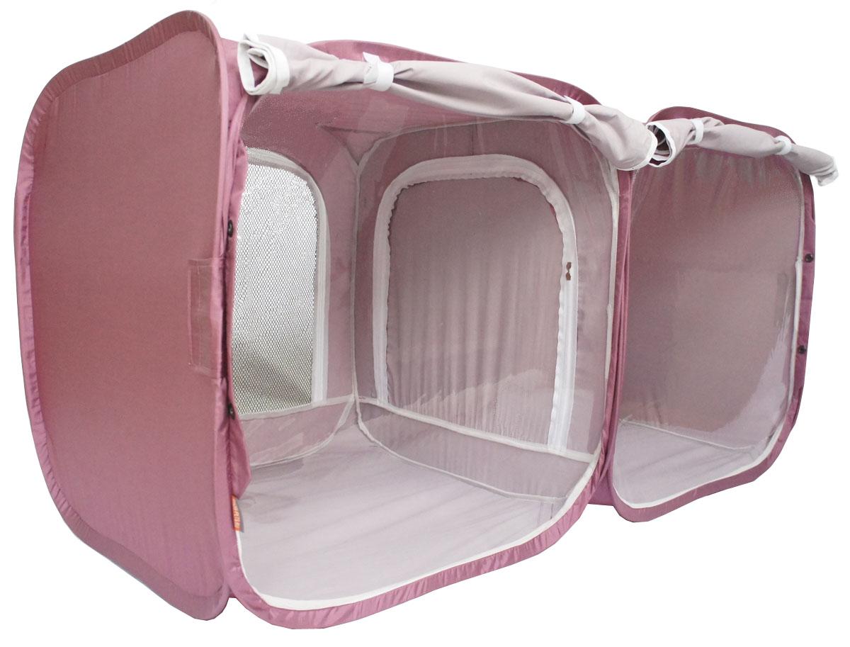 Палатка для выставки животных Шоу-Петс, цвет: бордовый, 120 х 60 х 60 см. ПВЛ2БПВЛ2БПалатка разработана профессиональными заводчиками для тех, кто хочет перемещаться и выставляться со своими питомцами легко и комфортно: -двойная выставочная палатка для кошек состоит из двух отдельных секций 60х60х60 см, между собой разделены сплошной перегородкой из той же ткани, на молнии, с фиксатором бегунка.; - палатка - клетка подойдет для двух разных животных, которые плохо сидят вместе на выставке в одной палатке - клетке. Для животных, которые хорошо сидят вместе, из такой палатки - клетки можно сделать совершенно комфортное выставочное помещение: в одной комнате находятся животные, а во второй - столовая или туалет ( в зависимости от потребности), при этом у каждой секции имеется собственная шторка, которой она закрывается от нежелательных взглядов.; - при желании, палатку - клетку для выставок можно превратить в односекционную, для этого достаточно сложить в плоскость одну из секций; - в комплекте к палатке идут ремни для крепления к столу, а так же ими удобно фиксировать...