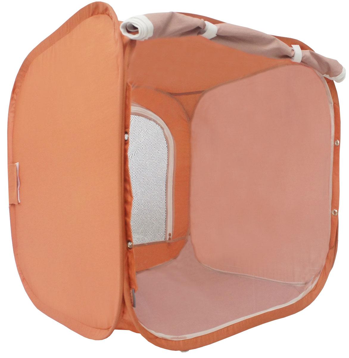 Палатка для выставки животных Шоу-Петс, цвет: корица, 60 х 60 х 60 см. ПВЛ1KПВЛ1KПалатка разработана профессиональными заводчиками для тех, кто хочет перемещаться и выставляться со своими питомцами легко и комфортно: - палатка разворачивается и сворачивается за 30 секунд; - экран палатки выполнен из суперпрозрачной пленки, шторка по желанию может опускаться и полностью закрывать экран от взглядов посетителей выставки; - палатка сворачивается восьмеркой в компактный блинчик и убирается в компрессионный чехол (идет в комплекте); - в комплекте к палатке идут ремни для крепления к столу, а так же ими удобно фиксировать палатку в поезде на верхней полке или в машине; - со стороны заводчика расположен большой удобный вход в палатку на молнии, бегунки молнии фиксируются крепежом, не позволяющим животному самостоятельно открыть вход и выбраться из палатки; - в скрученном виде палатка практически не занимает места в багаже и не ощущается по весу; - данный размер палатки предназначен для комфортного размещения на выставке одного животного среднего размера; - материал...