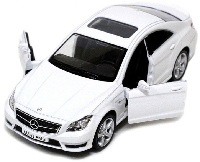 Pitstop Машинка инерционная Mercedes-Benz CLS 63 AMG C218 цвет белый PS-554995-W