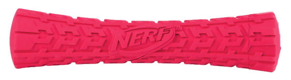 Игрушка для собак Nerf Палка, пищащая, 17,5 см22453Игрушка в форме палки с уникальным рисунком протектора шины! Изготовлен из сверхпрочной резины, что обеспечивает долговечность использования! Подходит для собак с самой мощной челюстью! С пищалкой! Яркие привлекательные цвета! Игрушки Nerf Dog представлены в различных сериях в зависимости от рисунка, фактуры и материала, из которого они изготовлены (резина, ТПР, нейлон, пластик, каучук). Оптимальна как для игры с вашим питомцем, так и для отработки команды Апорт Размер: 17,5 см, M.