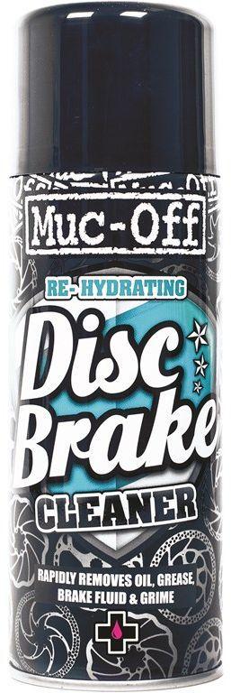 Очиститель дисковых тормозов Muc-Off Disc Brake Cleaner, 400 мл913Быстрый и эффективный способ очистить велосипедные дисковые тормоза. Улучшает эффективность торможения. Моментально удаляет пыль от тормозных колодок, тормозные жидкости, грязь и налет со всех частей тормозных механизмов. Особые добавки обновляют фрикционные накладки колодок, предотвращают скрежет. Продлевает жизнь тормозным колодкам. Высыхая не оставляет налета и безопасен для любых деталей из резины, пластиков,анодированых металов, углеволокна и окрашенных поверхностей.