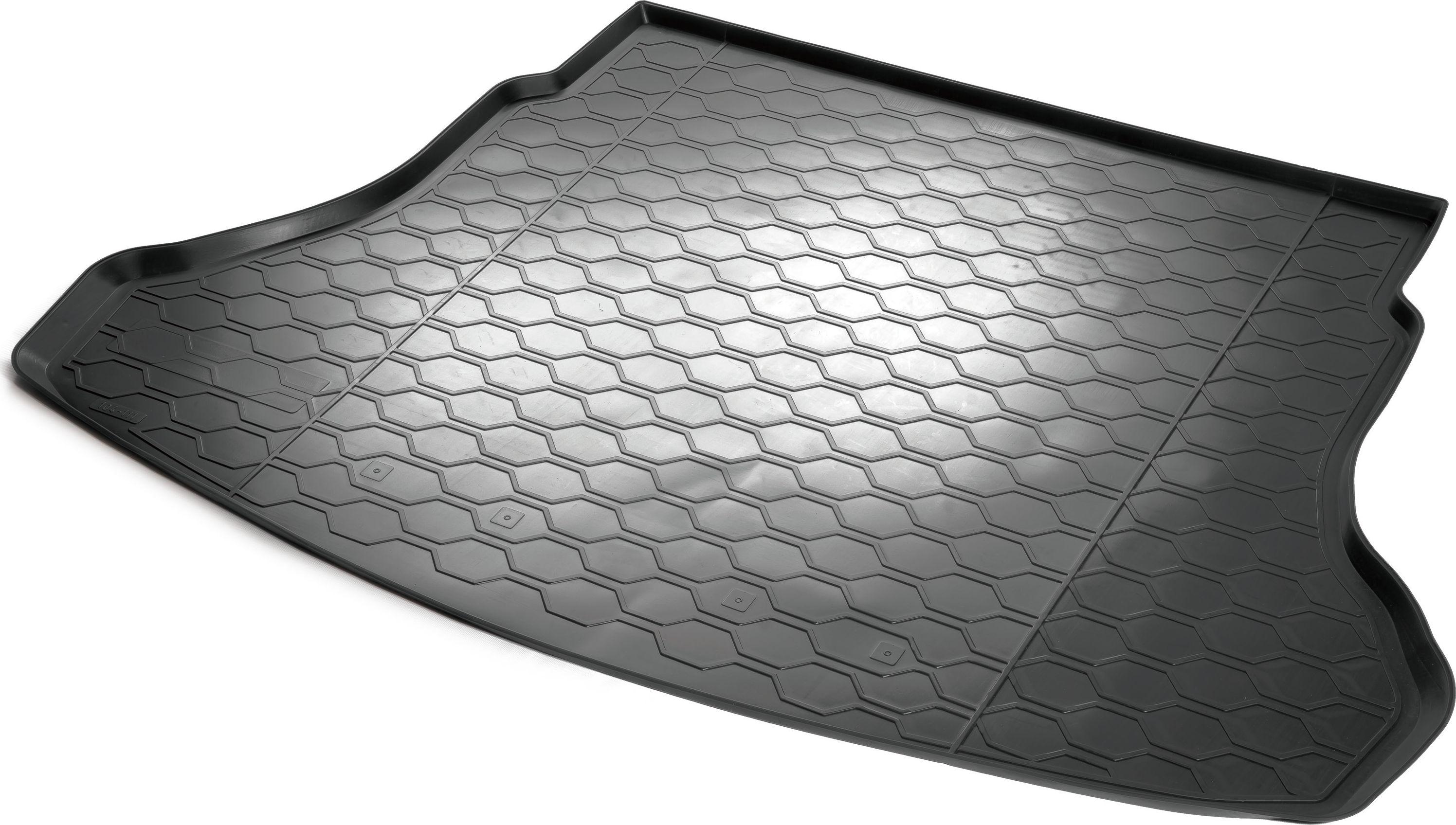 Ковер багажника Rival, для Hyundai Solaris SD 2017- (полиуретан)0012305008Ковер багажника для Hyundai Solaris SD 2017-, полиуретан, Rival Автомобильный ковер багажника Rival Поддон багажника позволяет надежно защитить и сохранить от грязи багажный отсек вашего автомобиля на протяжении всего срока эксплуатации, полностью повторяют геометрию багажника. - Высокий борт специальной конструкции препятствует попаданию разлившейся жидкости и грязи на внутреннюю отделку. - Произведены из первичных материалов, в результате чего отсутствует неприятный запах в салоне автомобиля. - Рисунок обеспечивает противоскользящую поверхность, благодаря которой перевозимые предметы не перекатываются в багажном отделении, а остаются на своих местах. - Высокая эластичность, можно беспрепятственно эксплуатировать при температуре от -45°C до +45°C. - Изготовлены из высококачественного и экологичного материала, не подверженного воздействию кислот, щелочей и нефтепродуктов. Уважаемые клиенты! Обращаем ваше внимание, что ковер имеет форму...