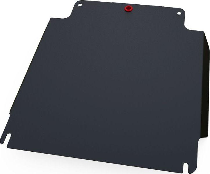 Защита КПП Автоброня, для Ford Ranger 2007-2012/Mazda BT 50 2006-2012, сталь 1,8 мм, комплект крепежа111.01809.1Защита КПП Автоброня для Ford Ranger, V - 2,5Т 2007-2012/Mazda BT 50, V - 2,5 2006-2012(также можно приобрести другие защитные элементы из комплекта: защита картера - 111.01821.1, защита РК - 111.01810.1), сталь 1,8 мм, комплект крепежа, 111.01809.1 Стальные защиты двигателя и других элементов Автоброня Надежно защищают Ваш автомобиль от повреждений при наезде на бордюры, выступающие канализационные люки, кромки поврежденного асфальта или при ремонте дорог, не говоря уже о загородных дорогах. - Имеют оптимальное соотношение цена-качество. - Спроектированы с учетом особенностей автомобиля, что делает установку удобной. - Защита устанавливается в штатные места кузова автомобиля. - Является надежной защитой для важных элементов на протяжении долгих лет. - Глубокий штамп дополнительно усиливает конструкцию защиты. - Подштамповка в местах крепления защищает крепеж от срезания. - Технологические отверстия там, где они необходимы для...