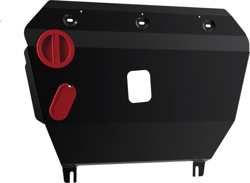 Защита картера и КПП Автоброня, для Geely Emgrand X7 2013-, сталь 1,8 мм, комплект крепежа111.01911.1Защита картера и КПП Автоброня Geely Emgrand X7, FWD, V - 2,0; 2,4 2013-, сталь 1,8 мм, комплект крепежа, 111.01911.1 Стальные защиты двигателя и других элементов Автоброня Надежно защищают Ваш автомобиль от повреждений при наезде на бордюры, выступающие канализационные люки, кромки поврежденного асфальта или при ремонте дорог, не говоря уже о загородных дорогах. - Имеют оптимальное соотношение цена-качество. - Спроектированы с учетом особенностей автомобиля, что делает установку удобной. - Защита устанавливается в штатные места кузова автомобиля. - Является надежной защитой для важных элементов на протяжении долгих лет. - Глубокий штамп дополнительно усиливает конструкцию защиты. - Подштамповка в местах крепления защищает крепеж от срезания. - Технологические отверстия там, где они необходимы для смены масла и слива воды, оборудованные заглушками, надежно закрепленными на защите. Толщина стали: 2 мм. В комплекте...